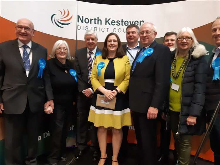 Dr Caroline Johnson won the Sleaford and North Hykeham seat for the Conservatives. (24156099)