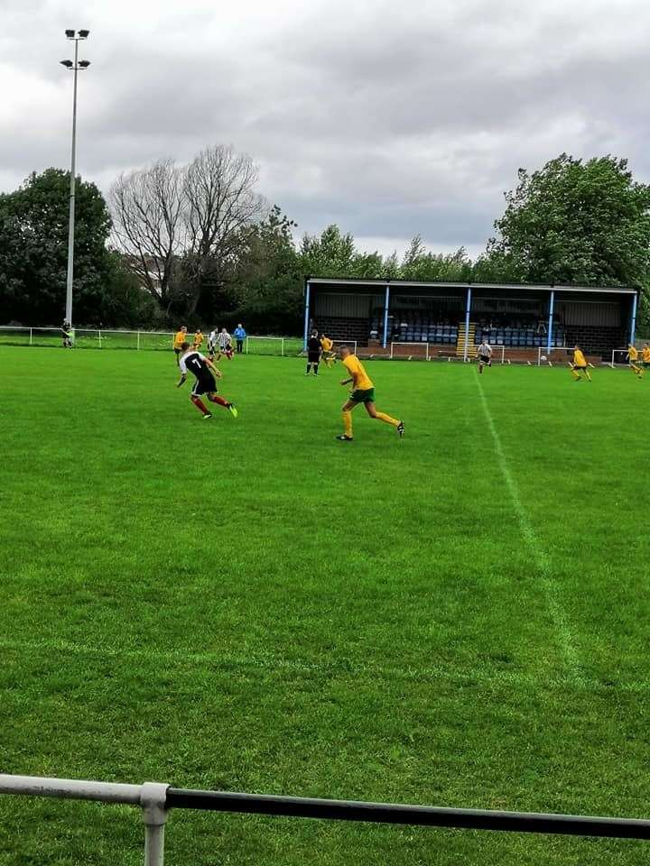Town in action at Askern. Credit: David Hurstfield (15086051)