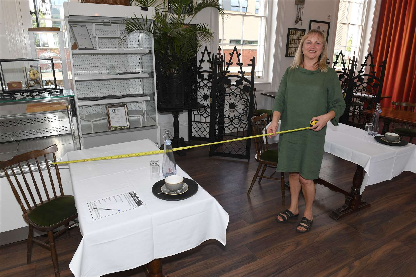CARRIAGES Café owner Wendy Baird is ready to help people begin socialising safely again after being in lockdown, with a series of Life After Covid workshops.