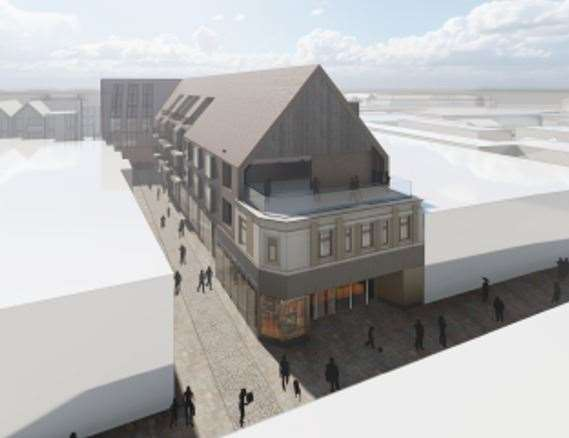 How the former M&S building on Stodman Street would look. (44833835)