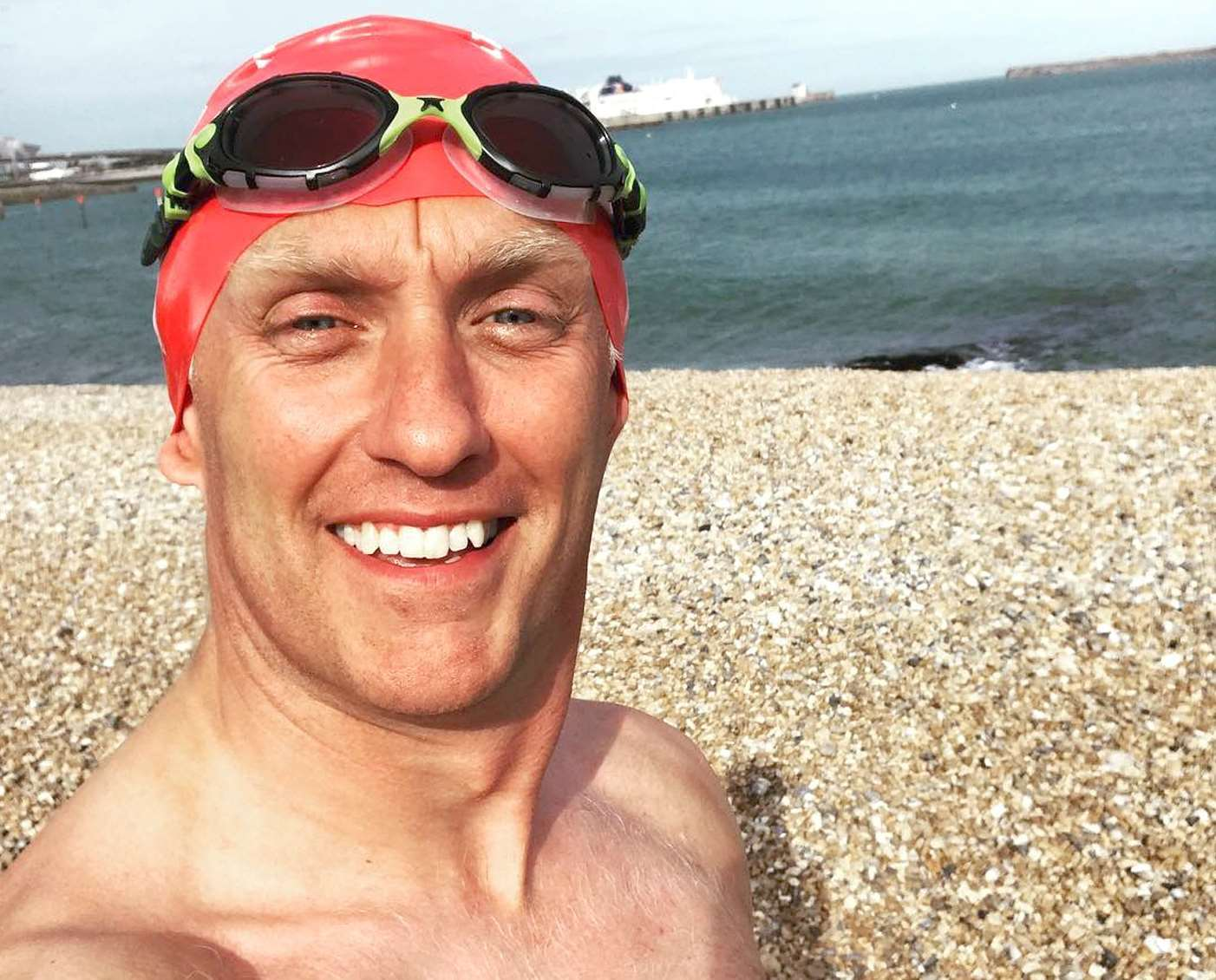 Mike Dawson is aiming to be the first person with multiple sclerosis to complete a solo swim of the English Channel.