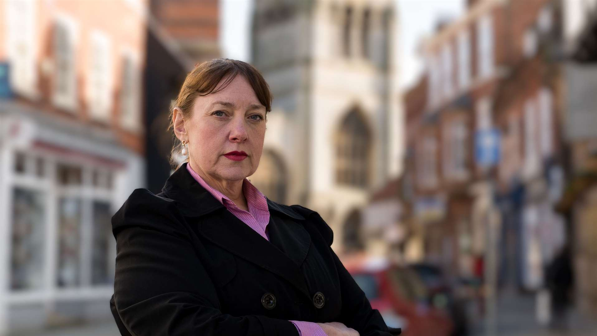 Caroline Henry, the Conservative candidate to become Nottinghamshire's Police and Crime Commissioner.