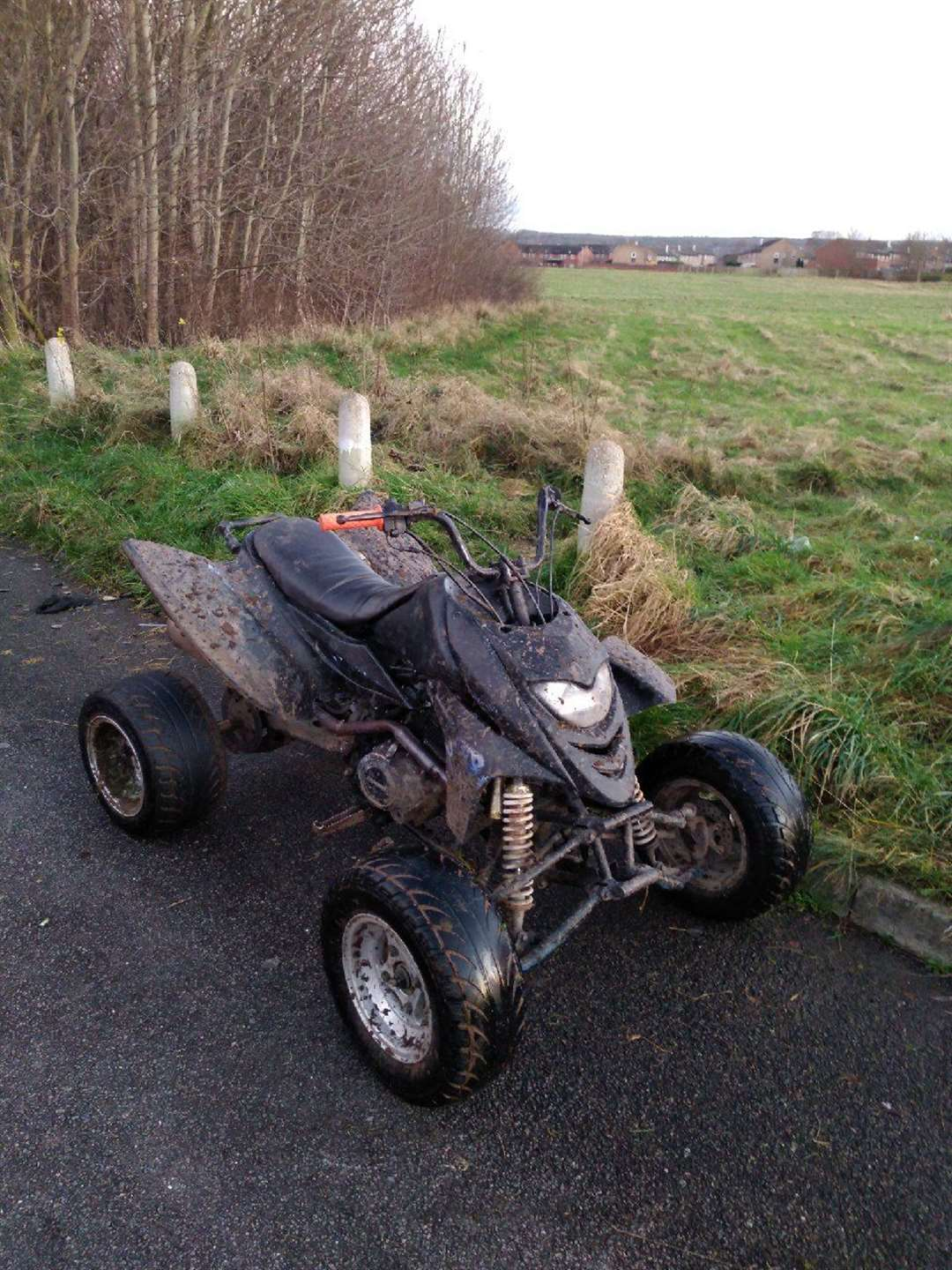 The quad bike suspected to be stolen. (43641982)