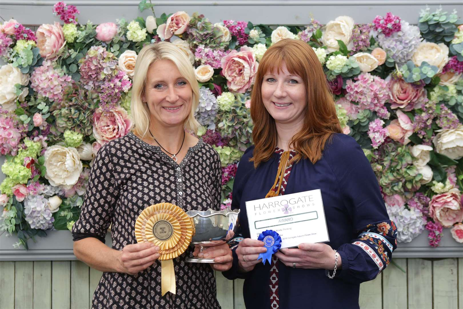 Awards For Southwell Flower Club Members At Harrogate Flower Show