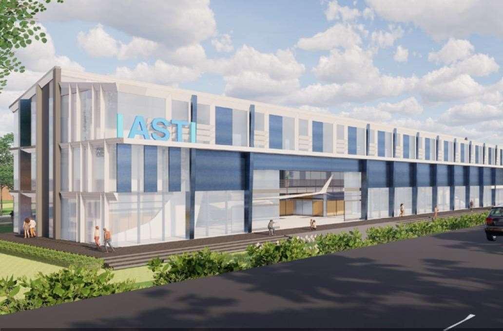 An artist's impression of the IASTI. (44833808)  - VLZRCAHJDP62H3ZYN0XD - RAF to partner in Newark's new International Air & Space Training Institute (IASTI)