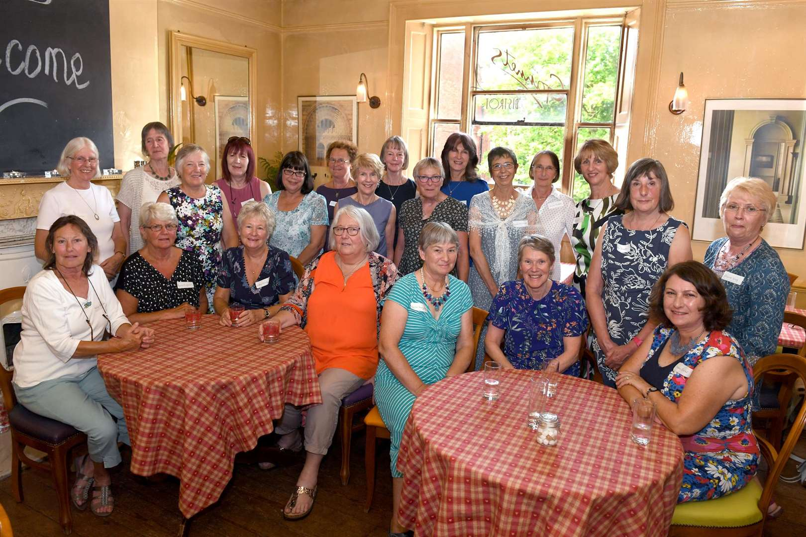 The former pupils of Newark's Lilley and Stone Girls' High School together again — 50 years after leaving the sixth form.