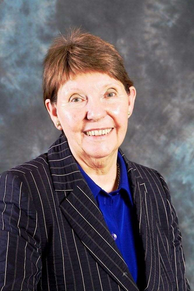 THE leader of Nottinghamshire County Council, Mrs Kay Cutts, who supports the creation of a super-council. (4147362)