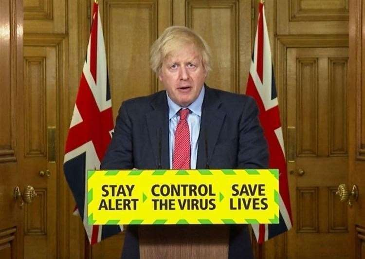 Boris Johnson has announced further measures to ease lockdown.(39590270)